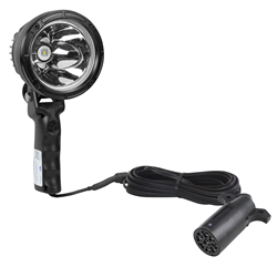 6 Million Candlepower Handheld Spotlight with Trailer Hitch Plug