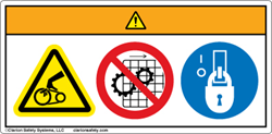 Wordless Product Safety Label Format Example