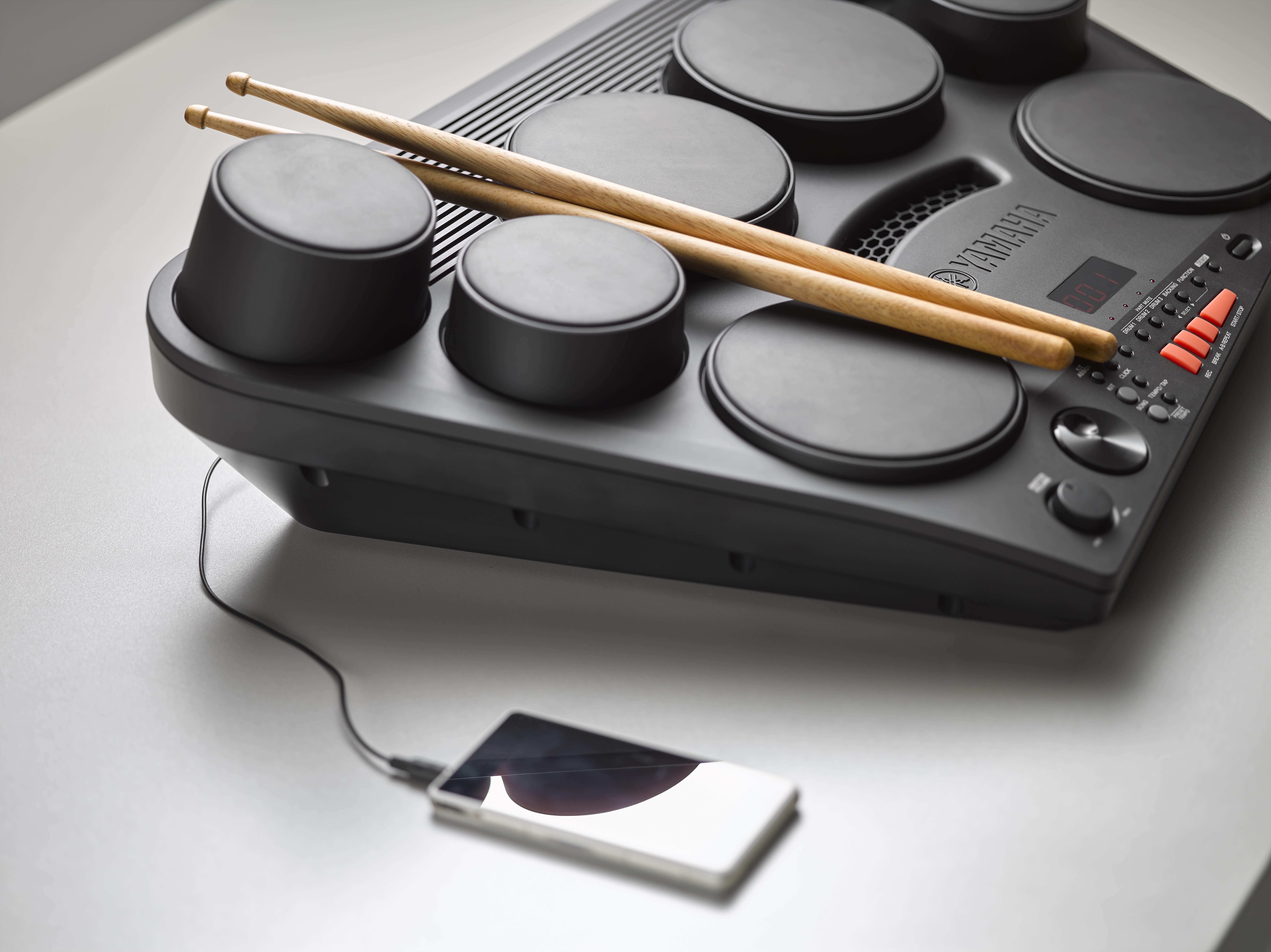 The yamaha dd 75 is a versatile portable drum set for the for Yamaha portable drums