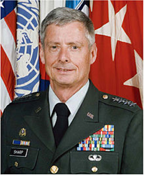 "Retired Army Gen. Walter L. ""Skip"" Sharp"