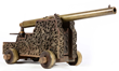 Experimental Whitworth Cannon on Ornate Carriage, Estimated at $20,000-30,000.