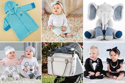 Tropical Toucan Hooded Beach Zip Up ; Mermaid Layette Set; Elephant Plush Plus; Trendy Baby; Kitty Pajama Gift Set; Bear Pajama Gift Set; Diaper Bag
