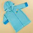 Tropical Toucan Hooded Beach Zip Up