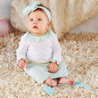 Simply Enchanted Mermaid 2-Piece Layette Set