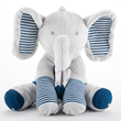 Louie the Elephant Plush Plus with Socks for Baby