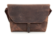 Maverick Leather Laptop Messenger— chocolate leather, Full size
