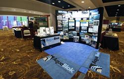 AquaBlok Exhibit Booth at Battelle Sediments Conference
