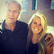 William K Haines Jr., former CEO at Haines & Co., stands with his daughter and new CEO, Ashley Williams