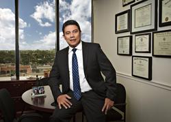 Immigration attorney Carlos E. Sandoval