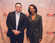 Daniel Mormino and Condoleeza Rice