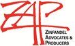 ZAP's mission is to advance knowledge of and appreciation for American Zinfandel and its unique place in our culture and history.