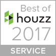 Super-Sod's Best of Houzz 2017 customer service badge