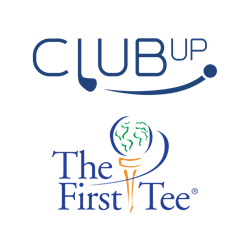 ClubUp and The First Tee logos