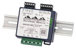 WattNode® Meter Module with optional DIN rail enclosure