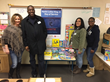 Employees from the C&S Family of Companies volunteered in schools around the US on or around the 2016 Dr. Martin Luther King, Jr. Day of Service.  Pictured:  Michael Crutchfield and a few coworkers fr