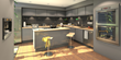 With a 2020 Ideal Spaces online space planning tool the customer can assemble their kitchen and, through lifelike renderings and 3600 panoramas, get an exact idea of what their dream project will look