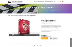 FCPX - String Valentine - Pixel Film Studios Plugin