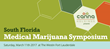 Medical Marijuana Experts Will Present To Physicians On Legal, Medical and Research Issues At South Florida Medical Cannabis Symposium