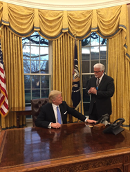 The United Brotherhood of Carpenters Met With President Trump to...