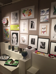 Lexington Christian Academy student artwork displayed locally in regional artshow