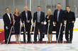"""Puck Drop"" with Community Dignitaries"