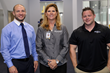 Michael Merren, Florida Hospital Wesley Chapel Athletic Trainer, Dr. Barbara Morris, Director of the Sports Medicine & Performance at Florida Hospital Wesley Chapel and Connor Lyon, Sports Performance