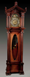 Grandfather Clock w/ Tubular Bells & Moon Phase Dial, Estimated at $4,000-8,000.