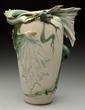Amphora Ceramic Eastern Dragon Vase, Estimated at $4,000-8,000.