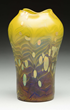 Loetz Cytisus Vase, Estimated at $4,000-5,000.
