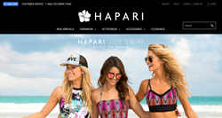 HAPARI's Newest Website Design