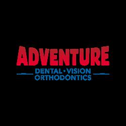 Adventure Dental Vision and Orthodontics Logo