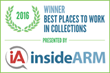 Capio Partners is the Winner of the Best Places to Work in Collections for FIVE years in a row!