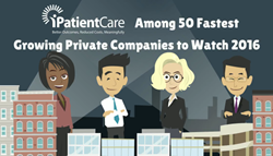 iPatientCare among 50 Fastest Growing Companies of 2016