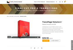 FCPX - TransPage Volume 2 - Pixel Film Studios Plugin