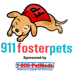 1-800-PetMeds are proud sponsors of 911fosterpets