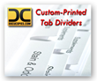 DocuCopies.com Offers Tab Divider Printing as a Standalone Service
