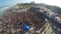 spring break, inertia tours, south padre island, clayton's beach bar, red bull