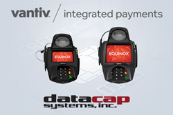 Datacap and Vantiv IP add support for the Equinox L5200 and L5300