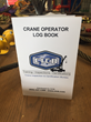 CICB Offers Crane Operator Experience Log Book