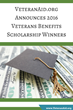 VeteranAid.org Announces 2016 Veteran Benefits Scholarship Winners