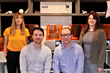 axial3D Leadership Team [L-R]: Katie McKinley, Head of New Business and Strategic Partnerships, Daniel Crawford, CEO, Niall Haslam, CTO, and Cathy Coomber, Operations Manager.