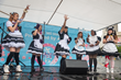 Performers at Sakura 360 Area stage