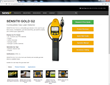 SENSIT GOLD G2 Combustible Gas Leak Detector Product Page