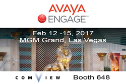 Visit Comview in booth 648 at Avaya ENGAGE