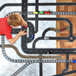 PlayTape road for toy cars brings kids' imaginations to life
