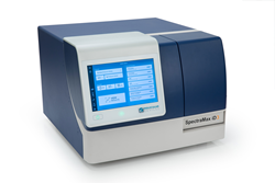 SpectraMax iD3 Multi-Mode Microplate Reader with large touchscreen and built-in NFC reader.