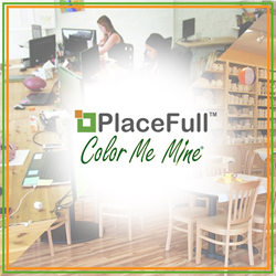 PlaceFull and Color Me Mine Announce Partnership