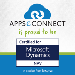 "APPSeCONNECT is proud to be ""Certified For Microsoft Dynamics Nav"""