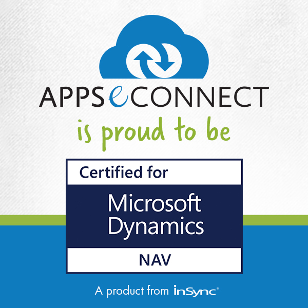 Appseconnect Data Integration Solution Is Proud To Be Certified For