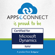 "APPSeCONNECT Data Integration Solution is proud to be ""Certified For Microsoft Dynamics Nav"""